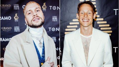 HEMMELIGHETSFULLE: Stig Joar «Unge Ferrari» Haugen og Sondre Justad er svært hemmelighetsfulle om deres kjærlighetsliv.