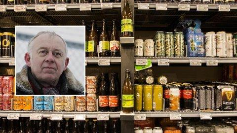 KAN BLI TOMT: Leder Petter Nome i Bryggeri- og drikkevareforeningen frykter at folk vil hamstre drikkevarer.