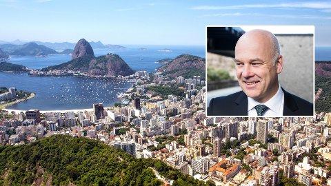 FOTBALL-VM: I 2014 var NRK-sjefen og andre i toppledelsen på Fotball-VM i Brasil på lisensbetalernes regning.