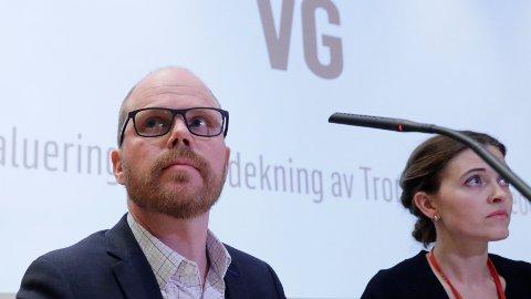 NEGATIVE: 51 prosent er mer negative til VG etter Trond Giske dansevideo-saken.