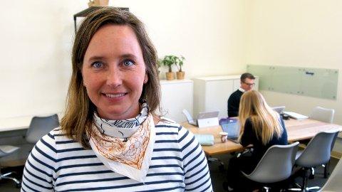 I USA: Gro Dyrnes, regionsdirektør for Amerika i Innovasjon Norge, er imponert over unge entreprenører i Norge.