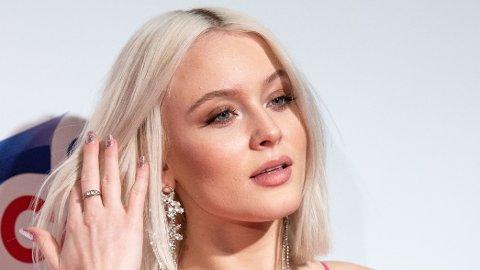 AVSLØRER LØNN: Den svenske popstjernen Zara Larsson avslører hvor mye hun pleier å tjene i løpet av en måned. Her er hun fotografert under Capital's Jingle Bell Ball på O2 arena i London i 2018.