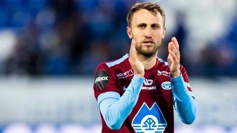Magnus Wolff Eikrem sikret ett poengg for Molde i serieåpningen borte mot Sarpsborg 08. Søndag skal Eikrem lede sitt lag til seier hjemme mot Stabæk.