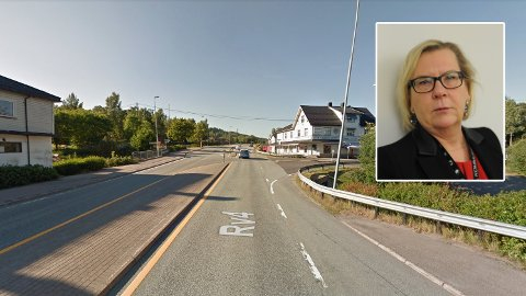 FORBANNA: Ordfører i Nittedal kommune, Hilde Thorkildsen er lei av forsinkelsene av denne veien.