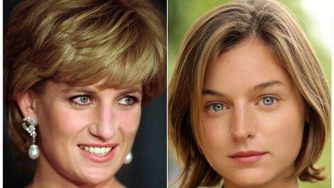 Emma Corrin har fått rollen som prinsesse Diana i fjerde sesong av «The Crown».
