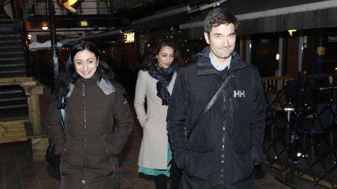 KJØPER SAMMEN: Hadia Tajik og Kristian Skard har kjøpt bolig i Oslo.