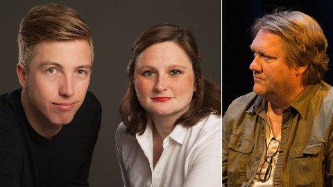 VGs tidligere politiske radarteam f.v.: Lars Joakim Skarvøy, Marie Melgård og Eirik Mosveen.