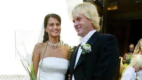 SKILLES: Eks-kjæresten til kronprinsesse Mette-Marit, Morten Borg, skilles etter 15 års ekteskap med modellen Celine Maktabi.