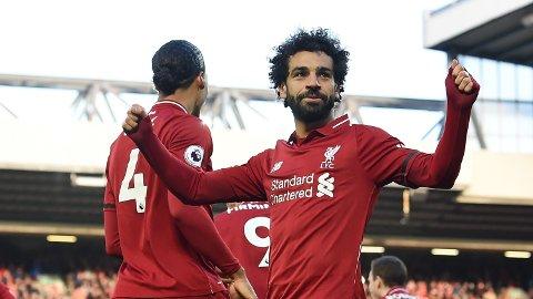 SNAKKER OM KVINNERS RETTIGHETER: Liverpool-stjernen Mohamed Salah sier at kvinner i Egypt og i den muslimske verden fortjener mer respekt.
