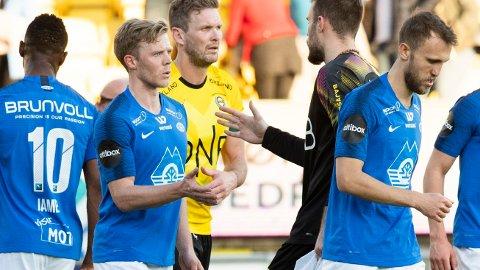 TØFF RETUR: Erling Knudtzon fikk høre det fra tribunen i sin retur til Åråsen.