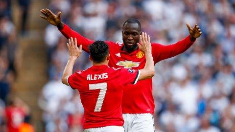 UNITED-EXIT? Det meldes at både Romelu Lukaku og Alexis Sànchez kan forlate Premier League etter endt sesong.