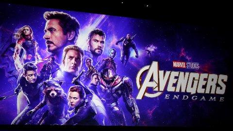 SUPERINNTEKTER. Avengers: Endgame har hentet inn 1,2 milliarder dollar i sin første helg. Til sammenlikning spilte den mest innbringende filmen gjennom tidende, Avatar, inn 2,7 milliarder dollar totalt.