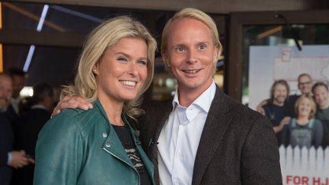 SELGER DRØMMEBOLIGEN: Vendela Kirsebom og Petter Pilgaard selger millionvillaen de akkurat har kjøpt.