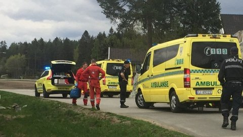 OMKOM: En kvinne i 70-årene er død etter å ha blitt påkjørt av en personbil.