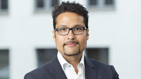 UVENTET NEDGANG: Konsernsjef Daniel Kjørberg Siraj i Obos kan notere en nedgang i Oslo-prisene i april,