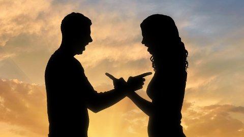 KONFLIKT: Da forholdet tok slutt, startet konflikten om penger som hadde blitt overført fra han til henne, var lån eller gave.