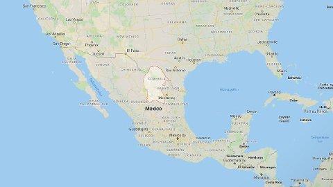 FORSVUNNET: Flyet skal ha forsvunnet fra den mexicanske delstaten Coahuila nord i landet.