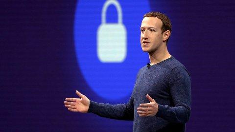 OMDØMME: Facebook stuper på en ny omdømmeundersøkelse. Her er Facebook-gründer og sjef, Mark Zuckerberg.