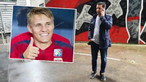 STOR INTERESSE: Den nederlandske fotballjournalister Freek Jansen mener det er mange som har latt seg imponere stort av Martin Ødegaard i Nederland.