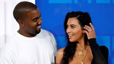 FORELDRE IGJEN: Kim Kardashian og Kanye West har nok en gang blitt foreldre.