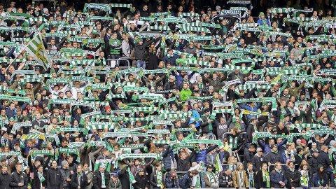 Hammarby er Nordens mest populære lag og snitter på rundt 20 000 tilskuere på sine hjemmekamper på Tele2 Arena i Stockholm.