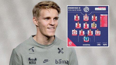 IMPONERER: Martin Ødegaard har hatt en kjempesesong for Vitesse.