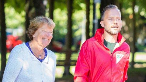 NYE TILTAK: Oslo-ordfører Marianne Borgen (SV) og SV-leder Audun Lysbakken lanserer nye tiltak for å redusere forskjellene i Oslo.