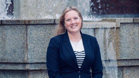 REAGERER: Frps førstekandidat i lokalvalget i Oslo, Aina Stenersen, mener SV ikke skjønner normal budsjettering når de nå vil øke eiendomsskatten.