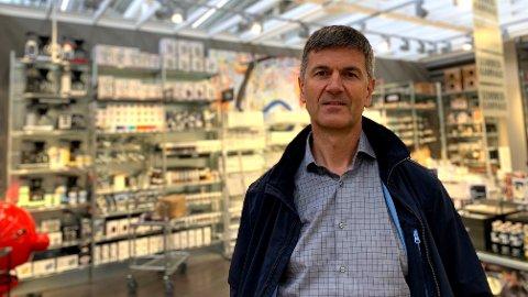TOPPSJEF. Odd Sverre Arnøy er sjef i Tilbords og Kitch'n.