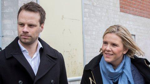 – Hvis noen velger å bli værende i en situasjon hvor de blir avhengige av offentlige ytelser fordi de sier nei til lån av religiøse årsaker, så må vi vurdere å kutte i støtteordningene, sier innvandringspolitisk talsperson i Frp, Jon Helgheim. Her erSylvi Listhaug og Helgheim på tur om ikke-vestlig innvandring i Danmark tidligere i år.