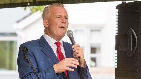 ALLIANSEN: Alliansen-leder Hans Lysglimt Johansen under Arendalsuka 2018.