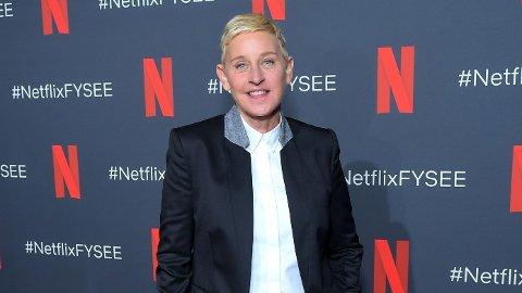 Talkshow-vert Ellen DeGeneres åpner opp om den tunge fortiden.