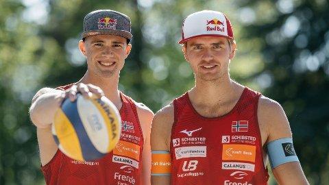 VANT I TSJEKKIA: Anders Mol og Chrsitian Sørum.