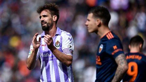 KAPTEIN: Tidligere Valladolid-kaptein Borja Fernández skal angivelig ha hatt en sentral rolle for kampfiksingen, ifølge El Mundo.