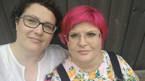 MÅLLØSE: Ekteparet Gunhild Olaugsdatter Drage og Wanya Valkyrie Drage forteller at de er målløse over responsen de har fått i etterkant av innbruddet.
