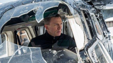 SPRENGTE: Filmsettet til den nyeste «James Bond»-filmen skal ha blitt ødelagt av tre store eksplosjoner. Det er ikke kjent om 007 selv, Daniel Craig, var tilstede på settet.