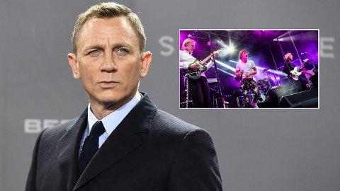 NORSK INNSLAG?: Molde-bandet Revolt linkes til den nye «James Bond»-filmen. Selv er bandet nokså hemmelighetsfulle.