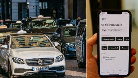 VY: Nå kan du vye deg til rimeligste taxi.