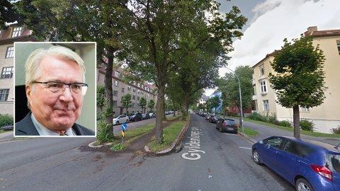 KLAR FOR KRIG: Fabian Stang vil for første gang ty til sivil ulydighet. Og det er for å stoppe en sykkelvei.