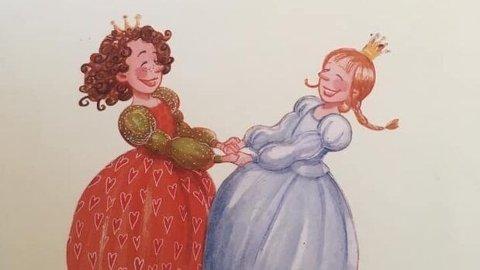 To prinsesser: Boka «Prinsessen, som var alene» handler om to prinsesser som finner kjærligheten med hverandre. Boken er for barn fra 2 til 8 år.