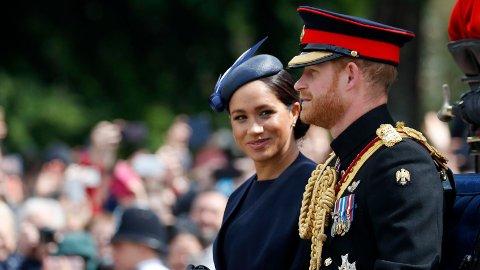 FÅR DET FINT: Offentlige regnskaper fra det britiske kongehuset viser at prins Harry og hertuginne Meghan brukte 25 millioner kroner på å pusse opp huset sitt i Windsor. Foto: Frank Augstein/ AP / NTB scanpix. (AP Photo/Frank Augstein)