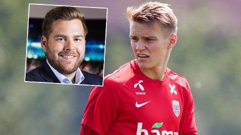 LIKER DET HAN HØRER: Petter Veland er positiv til tanken om å se Martin Ødegaard spille for Real Sociedad de neste to årene.