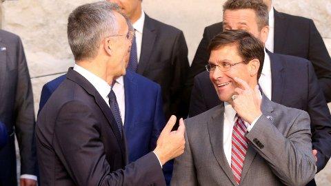 FORSVAR: USAs nye fungerende forsvarsminister Mark Esper bekrefter overfor at missilforsvar vil bli en del av diskusjonene.