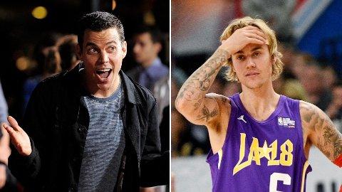 UTFORDRER: Jackass-stjerne Steve-O utfordrer Justin Bieber til kamp i UFC-buret dersom Tom Cruise ikke stiller opp.