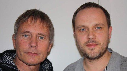 Arild Knutsen (t.v.) og Thomas Kjøsnes.