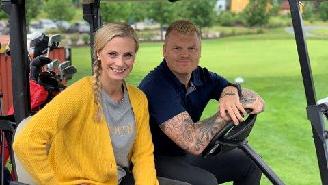 NY SESONG: John Arne Riise er med i den nye sesongen av «I lomma på Silje» med forbrukerøkonom Silje Sandmæl.