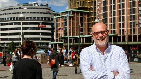 SMILER: Geir Hammer i Swedish Match kan smile bredt over tallene som viser at selskapet tjener penger som gress.