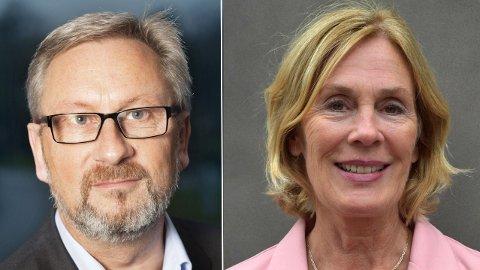 Jan Johansen og Elisabeth Fjellvang Kristoffersen. Foto: Pressebilder Montasje: Mediehuset Nettavisen