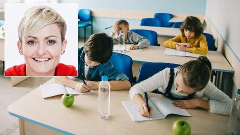 SKOLESTART: Undervisningsminister Pernille Rosenkrantz-Theil har signert en avtale som gjør at alle danske barn må bestå språktester før de får starte i første klasse på barneskolen.