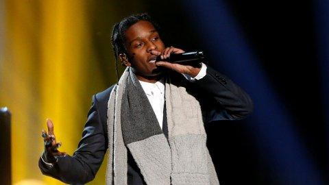 I TRØBBEL: Rakim Meyers, best kjent som rapperen ASAP Rocky, må avlyse flere konserter fordi Stockholm tingrett har besluttet at han skal varetektsfengsles.